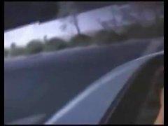 Peachez Car Blowjob
