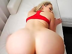 Pretty big ass blonde love anal