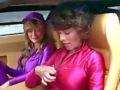 Hot wegwedstrijd retro clip