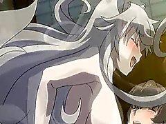 Hentai Catgirl трахается и кончает