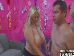 Big Tit Samantha 38G Boobtastic Fuck a Fan