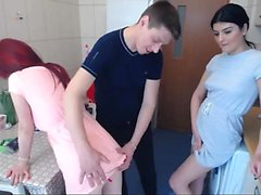 Breasty beata russische Finger Snatch