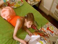Vervelende huiswerk van verbazingwekkende tiener