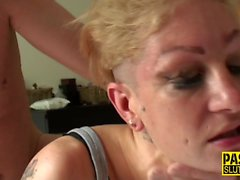 Mature submissive whore