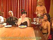 Sex Slaves Give Kinky Table Service