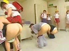 Lesbian Humiliation Gang Bang