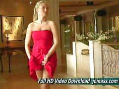 Элисон Ангел секси красном платье Действует аналогично Fashion Model