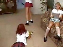 de vid old de 3 meninas de calcinha