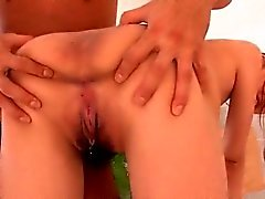 Anri Hoshizaki enjoys cock in her bush and craves to swallow
