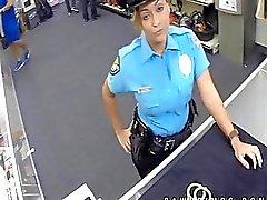 Poliziotto vero chiari di luna così a Ho in negozio di pedone