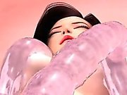Shiroi Mitsu No Kyoufu Hentai 3D