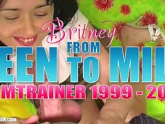Revolver ATM: Britney Swallows goes ASS to MOUTH 10 times in homemade anal