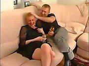 madurez tía calientes ruso con el muchacho del