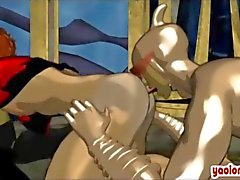 Trio i gay hentai della succhiano e si leccano reciprocamente