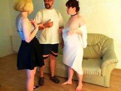 Amateur Trio Brunette
