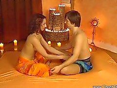 Handarbeit Massage macht einen Sinn