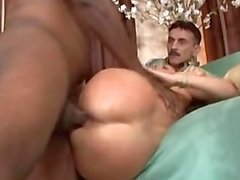 Janet Мэнсоном - Wife Gangbanged чернокожими