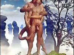 3D di Uomini dell'esercito e Fantasy omosessuali !
