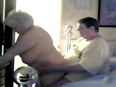 BBW and Hubby On Security Footage