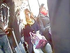 piscando caralho em autocarros