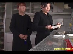 Ikuta Miku Plays The Daughter In This Sod Drama Fucked In front Of Aunts