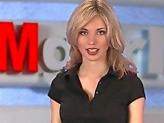 Russische Moskow grl TV Natasha Volkova