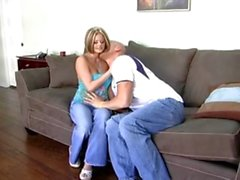 Blonde Fucked in her Jeans