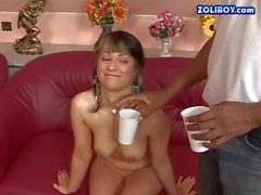 Lexy Little has kinky golden shower action