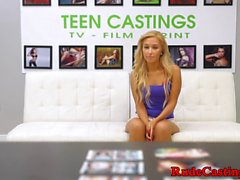 Brutal casting audition for real teen