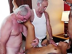Teen Nikki Kay Gets Gangbanged von Old Men