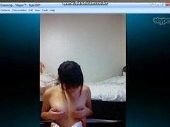 Teléfono de la chica de la escuela de Corea del sexo 1