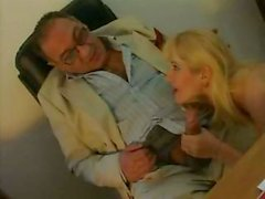 Lucky Roberto Malone gets to fuck a young blonde hottie in the ass