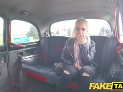 Fake Taxi Shy blonde teen with natural tits