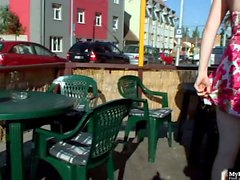 Barbara Babeurre loves public sex. It gets her off. Her and her boyfriend