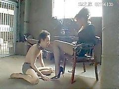 Rauchen Asian Mistress und Lucky Slave 13.3.16