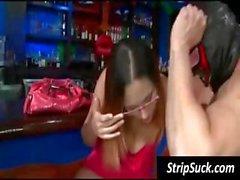 Abnormal harlots with odd temples of low men do the dancer's dooflicker