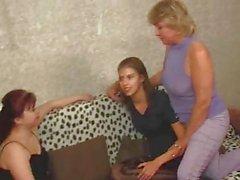 Maduras lesbiano Orgía de quince