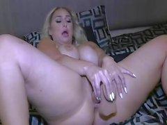 Огромный Блондинка Booty и сиськи