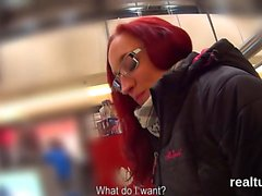 Adorable czech cutie is tempted in the supermarket and fucke