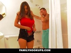 FamilyHookUps - Stepdaughter Herrass And Fucks Stepdad