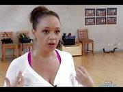 Leah Remini Jerk Off Challenge