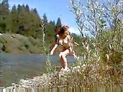 luonnollinen punapää saada pois joen tirkistelijä tyyliin mikro mini bikinit