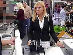 Holly The MILF is Porked Hard At The Pawn Shop
