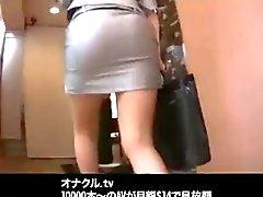 Giapponese signora ufficio Orgy Hardcore Fucking