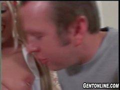 BlondeTeen Loves Older Guy&#039_s Cock