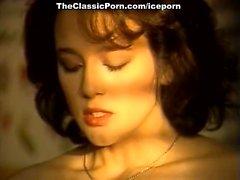 Melissa Melendez , Taija Рае , Candie Эванса выполнен в классическом порнографии
