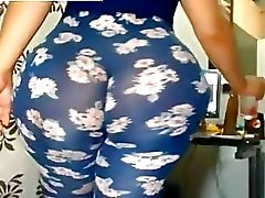 Massive Ass dans Leggings Gratuit BBW Porn