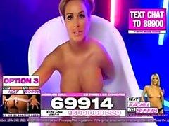 Gemma Massey in der Badewanne 2