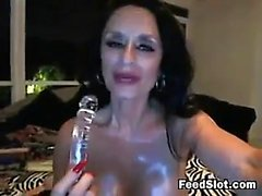 Dirty Grandma Masturbates