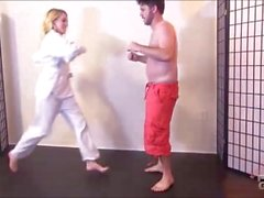 Cadence Lux Karate Kick Füße Beatdown brattyfootgirls